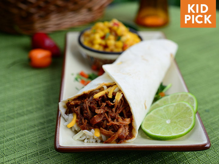 Southwest Pork Carnitas Wrap