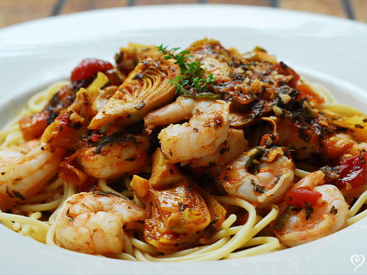 Beach Street Shrimp Scampi with Linguine