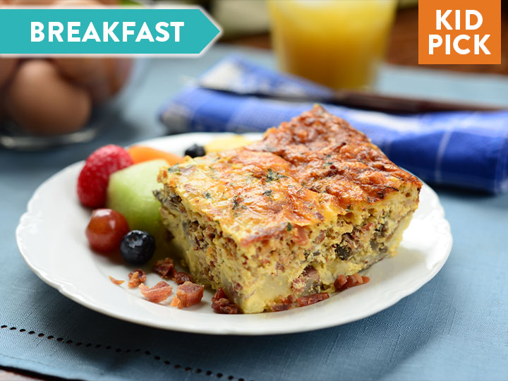 Breakfast Bacon Frittata