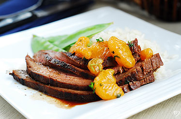 MANDARIN FLANK STEAK