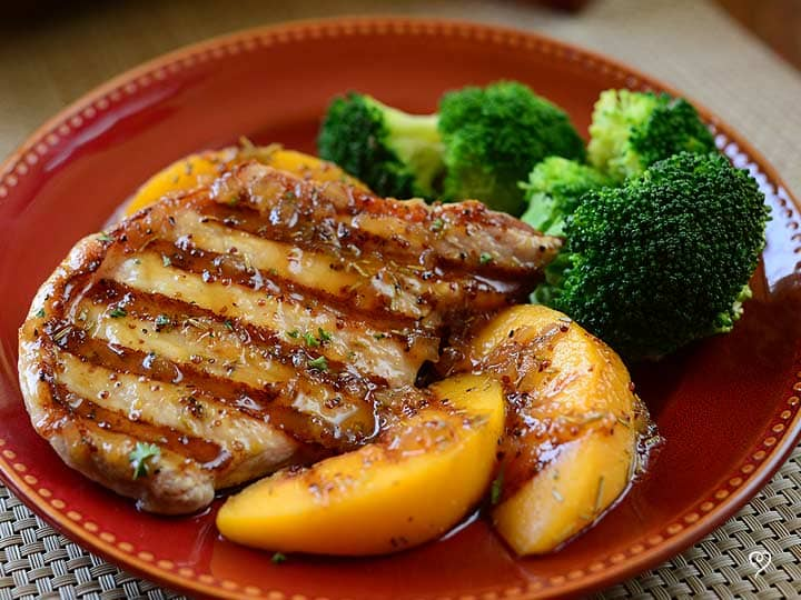 Georgia Peach Pork Chops