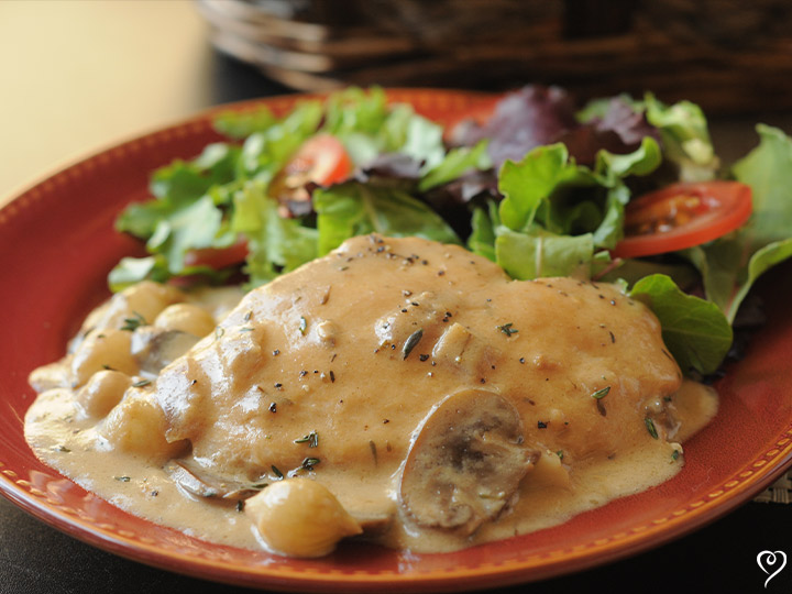 Sherry Cream Chicken