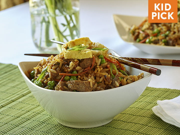 Sizzling Sirloin Beef Fried Rice
