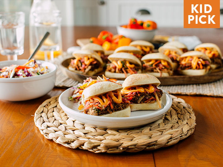 Pulled Pork Banh Mi Sliders