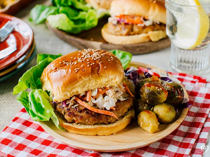 Sweet Thai Turkey Burger